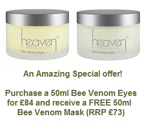 Bee Venom Eyes and Mask Offer