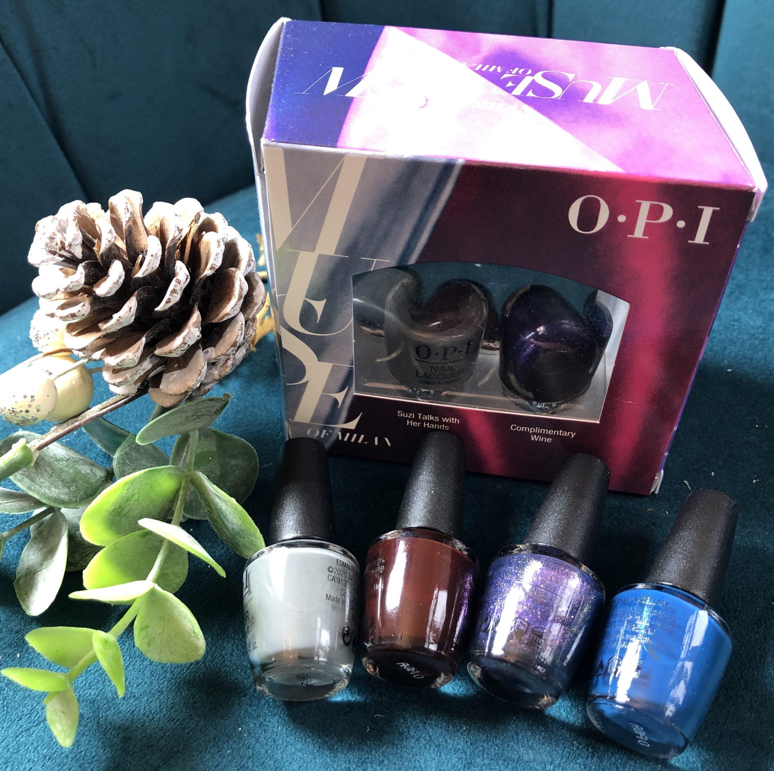OPI Muse Kits - 4 mini colours