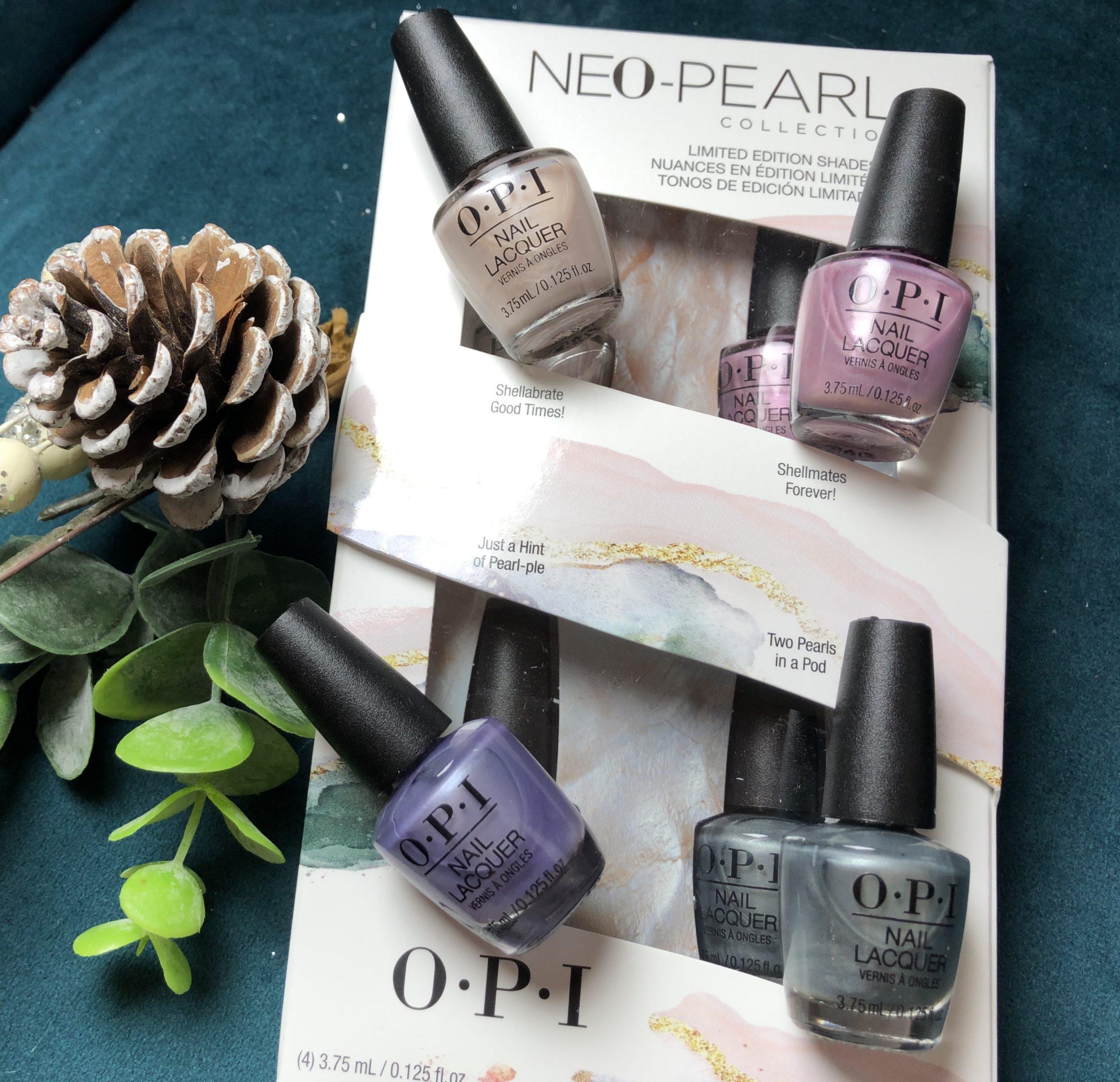 OPI Neo-Pearl KITS 4 mini Colours