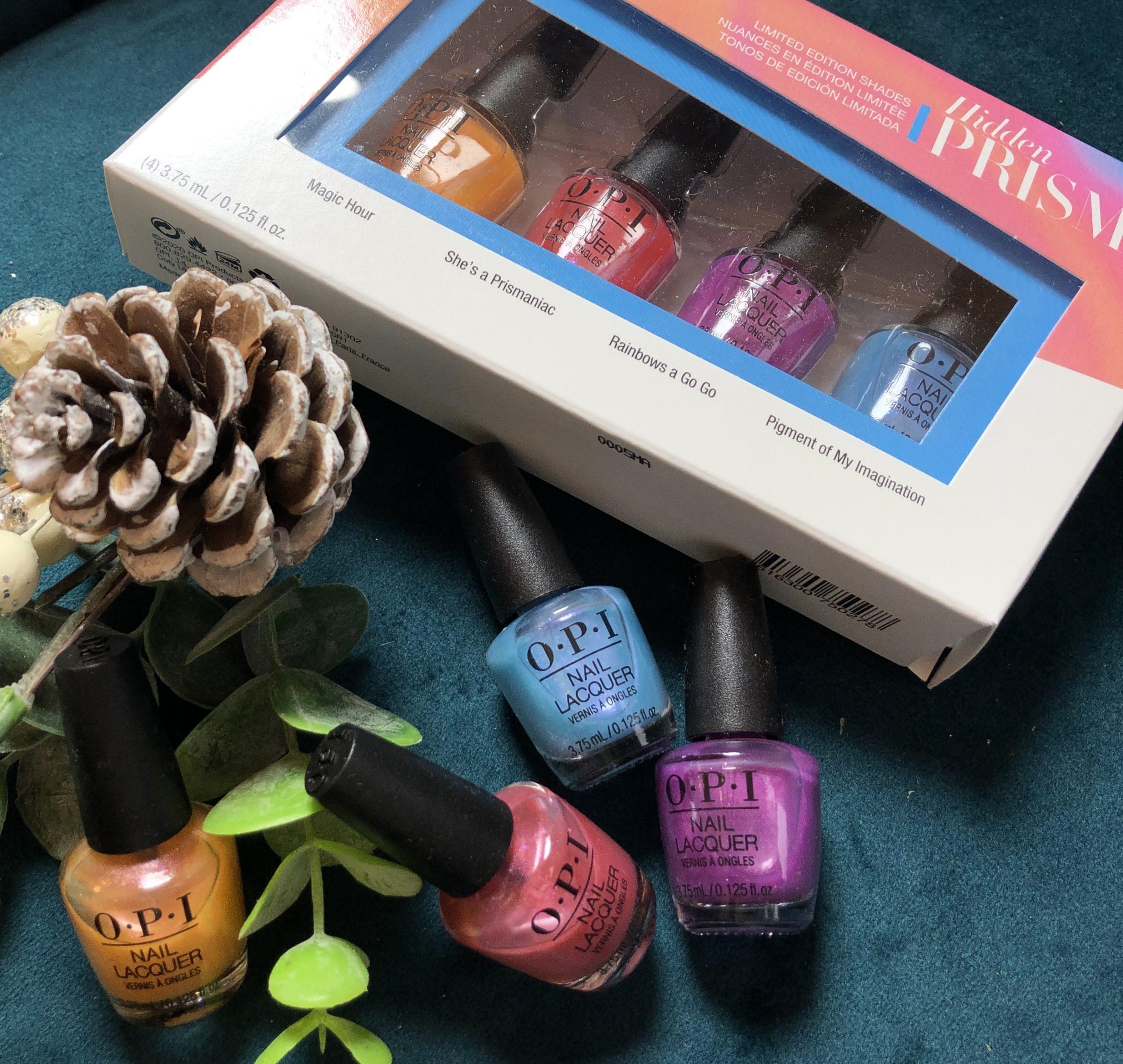 OPI Prism Kits 4 mini colours