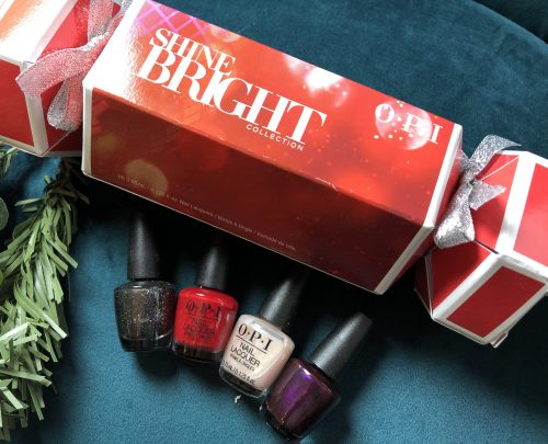 OPI Shine bright 4 piece mini Lacquer Christmas cracker
